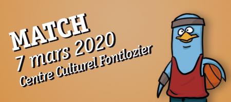 MATCH 7/03 Centre Culturel Fontlozier