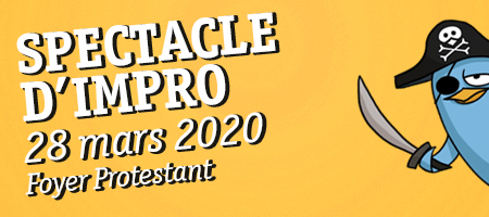 SPECTACLE D'IMPRO 28/03 Foyer Protestant