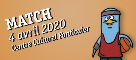 MATCH 4/04 Centre Culturel Fontlozier