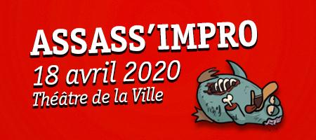 ASSASS'IMPRO 18/04 Théâtre de la Ville