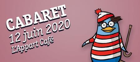 CABARET 12/06 L'Appart Café