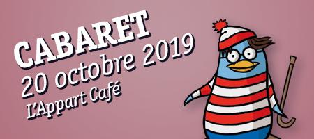 CABARET 20/10 L'Appart Café