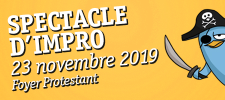 SPECTACLE D'IMPRO 23/11 Foyer Protestant