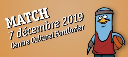 MATCH 7/12 Centre Culturel Fontlozier